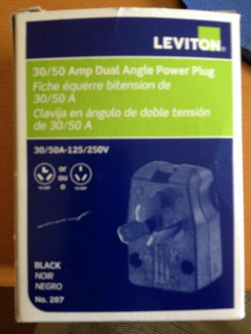 leviton 30amp plug
