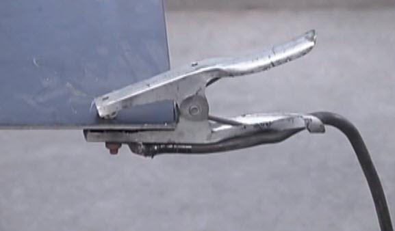 mig welder ground clamp