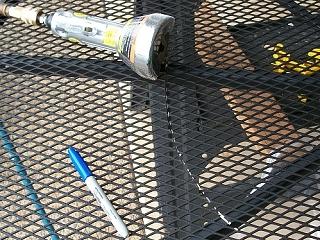 air powered cut off saw