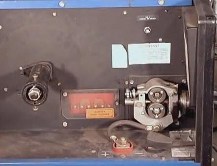 wire feed setup
