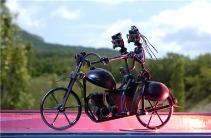 motorcycle welding art