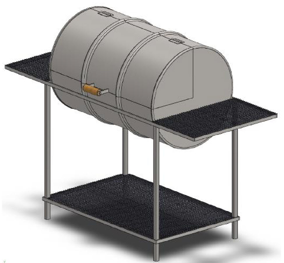 55 gallon drum grill
