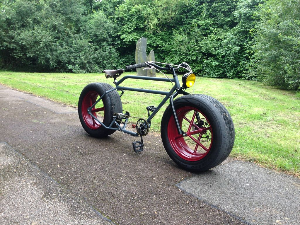 car wheel bike