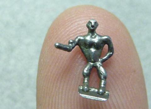 tiny man