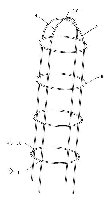 tomato cage weldments