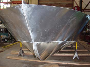 aluminum boat build