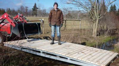 Footbridge For Livestock