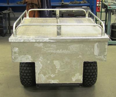 rear atv trailer