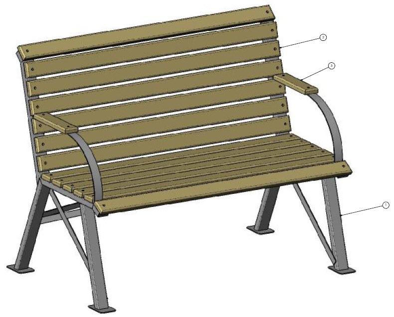 Bench assembly