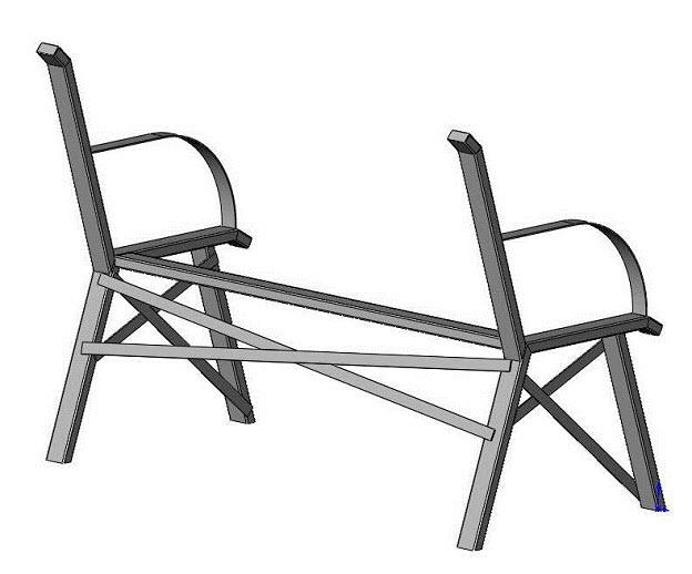 bench leg braces
