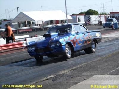 Ford Hotrod Drag Racing