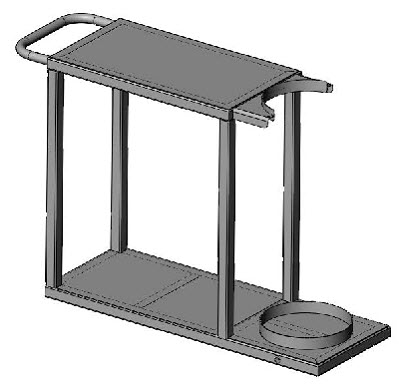 welding cart frame