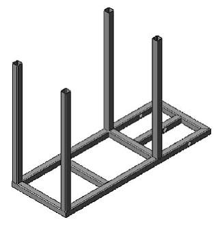 welding cart legs