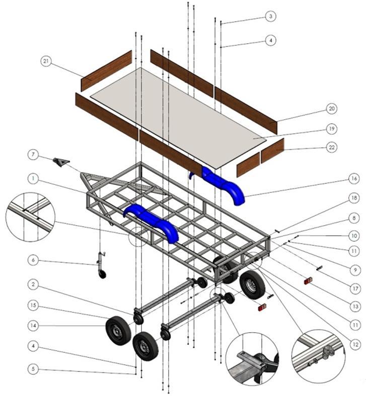 welding trailer build