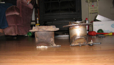 Fire Pot Before After