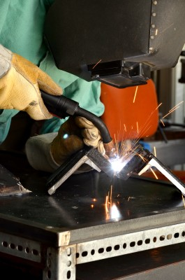 welding a corner joint