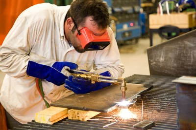 acetylene cutting torch