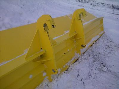 quick attach plow