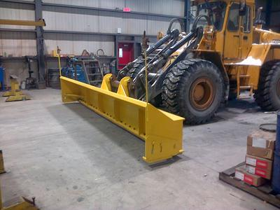 scrap made plow