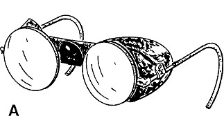flash goggles