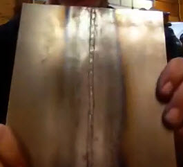 good weld penetration