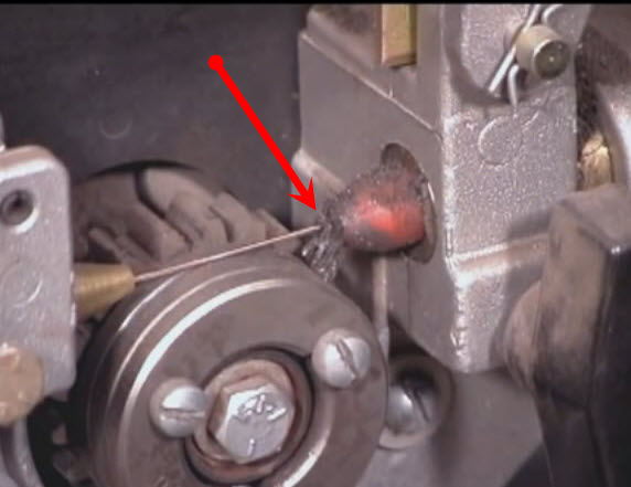 wire gumming up