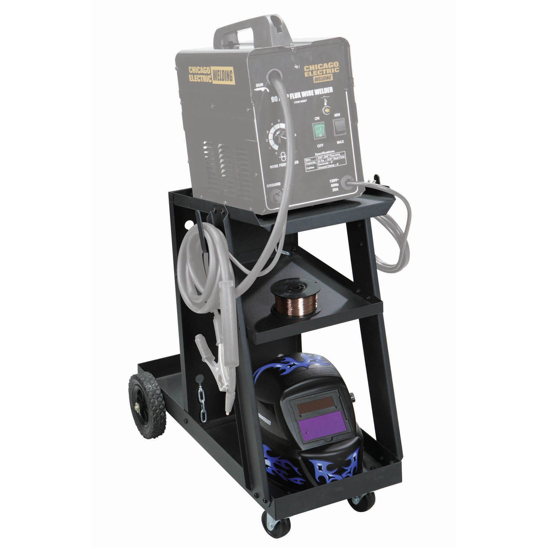 harbor freight welding cart