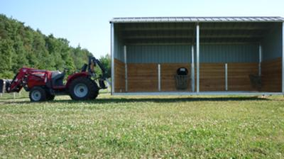 Livestock Shelter and Feed Station