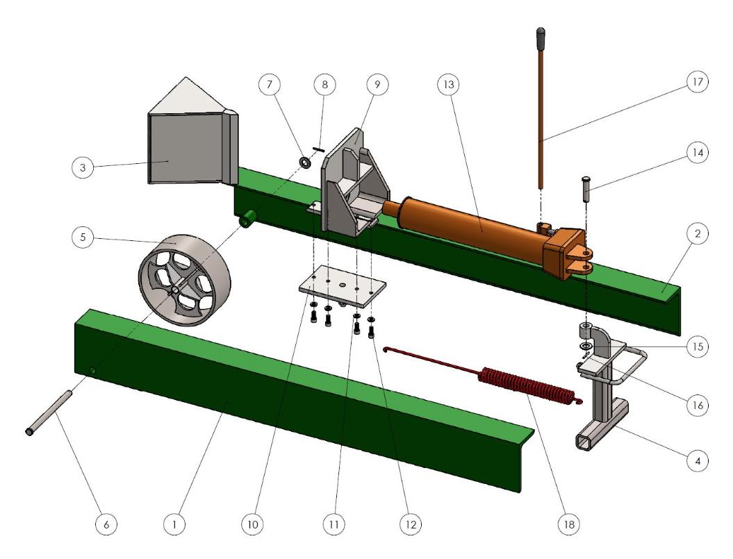 Manual spring assist log splitter youtube.