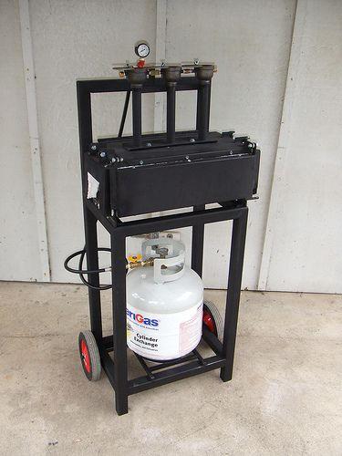 modern portable forge