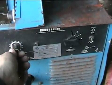motor speed control knob