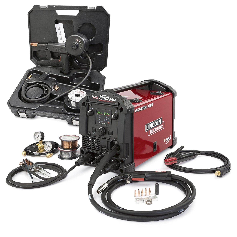 power mig 210 mp with spool gun