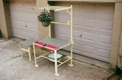 Potting Stand and Table