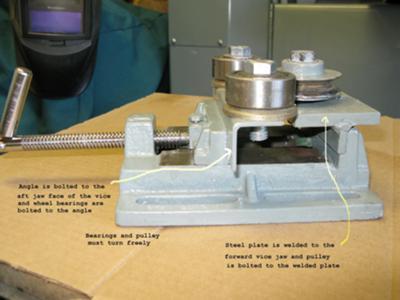 Home Built Rod Roller