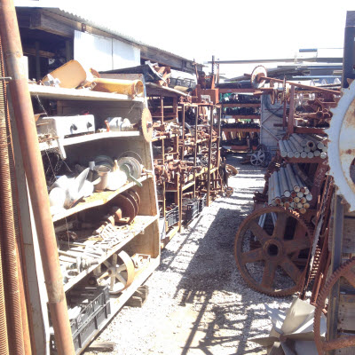 petaluma scrap yard