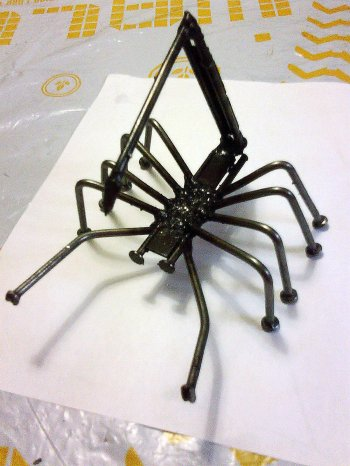 Student welding projects - Simple metal art projects ...