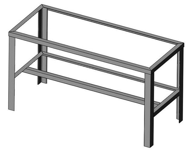 shelf frame installation