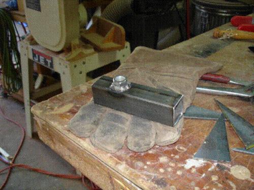 side table bracket fabrication