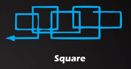 square weld technique