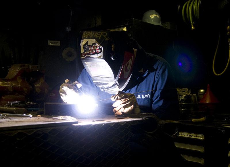 welding door hinge