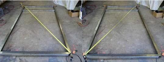 trailer frame perimeter