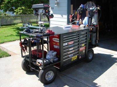ultimate welding cart