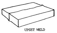 upset weld