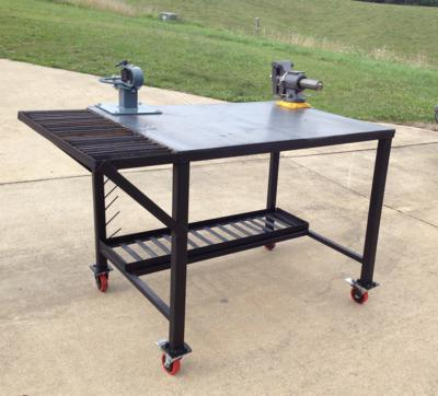 vice and bender welding table