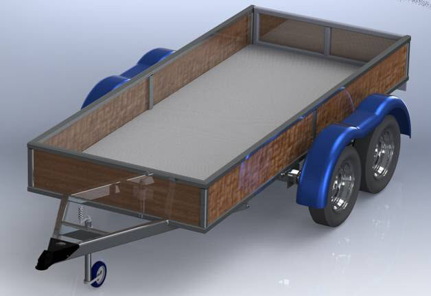 welding trailer project