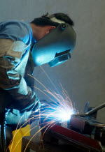 mig welding project