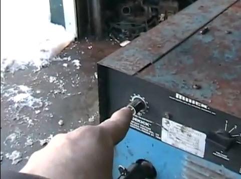wire feed speed gauge