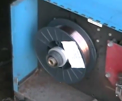 mig welding wire spool