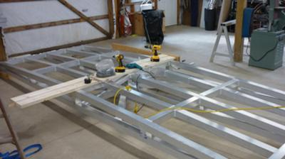 Arched Footbridge Construction
