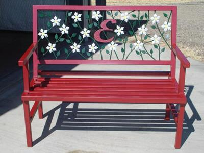 Decorative Garden Bench